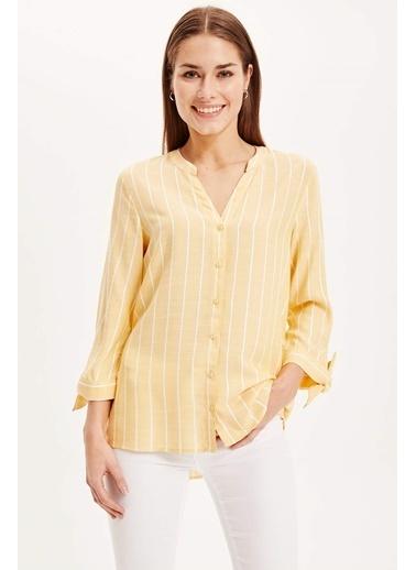 DeFacto Gömlek Sarı